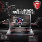 MSI GE62 Apache 阿帕契 強勢開戰